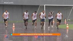 Árbitros baianos se preparam para o Baianão 2019