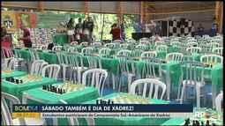 Sábado tem competição de xadrez em Foz do Iguaçu