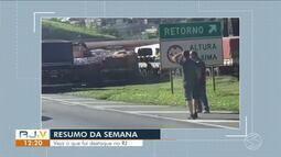 Resumo da Semana: confira o que foi notícia no Sul do Rio