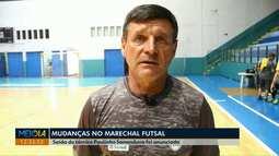 Paulinho Sananduva deixa o Marechal Futsal