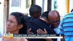 Corpos de vítimas de acidente em Campos Sales são enterrados