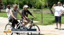 Projeto torna bicicletas acessíveis para todos em Volta Redonda