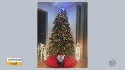 Confira as fotos da decoração de Natal no Sul de MG