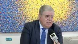 Ministro da Secretaria de Governo faz balanço de obras que beneficiaram MS
