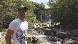 Reveja: Morador de Capitólio mostra cachoeira escondida em trilha