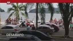 G1 em 1 Minuto - Santos: Mãe que salvou filha de estupro em praia de São Vicente desabafa