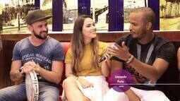 Jamile Pavlova entrevista banda de samba 4 Lance