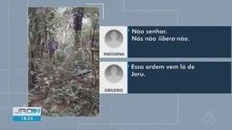Indígenas filmam invasão de grileiros a terras indígenas de Rondônia
