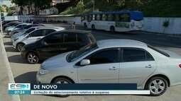 Licitação do estacionamento rotativo é suspensa novamente em Cachoeiro, ES