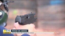 Especialista do ES comenta decreto que permite até 4 armas por pessoa no Brasil
