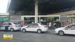 Sem saber se iria ter trem, passageiros vão para estação Pedro Nolasco, em Cariacica