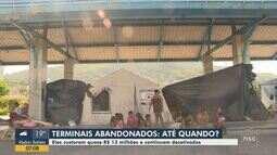 Terminais que custaram milhões estão abandonados em Florianópolis