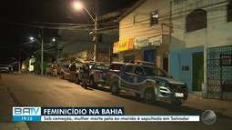 Mulher é morta pelo ex-marido em Salvador