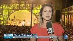 Carlinhos Brown e Mariene de Castro animam festa em Salvador no dia da Lavagem do Bonfim