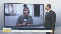 Festa do Samba reúne escolas para escolha do Rei Momo em Santos