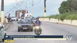 Ponte dos Barreiros, em São Vicente, receberá novo laudo nesta sexta-feira (18)