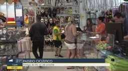 Entrega de kits para o Passeio Ciclístico de Praia Grande vai até sábado (19)