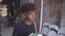 Jovem de Guarujá conhecia alguns jogadores na tragédia no CT do Flamengo