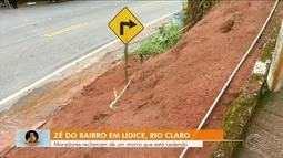 Zé do bairro vai até Lídice, distrito de Rio claro, conferir reclamação de moradores