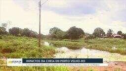 Impactos da cheia em Porto Velho
