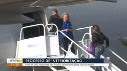 Venezuelanos participam de novo processo de interiorização em Roraima