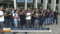 Dezenas de candidatos pedem apoio por orçamento para garantir concurso público em RR