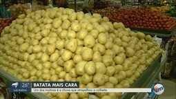 Preço da batata sobe e consumidores reclamam na região de Ribeirão