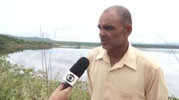 Moradores de Bocaiuva estão preocupados com a situação de uma barragem na região