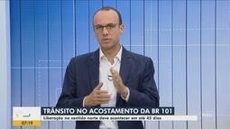 Liberação da terceira faixa entre Palhoça e São José deve acontecer nos próximos 45 dias