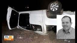 Vereador de Girau do Ponciano morre em acidente de trânsito