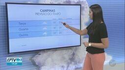 Confira a previsão do tempo para as cidades da região nesta terça-feira