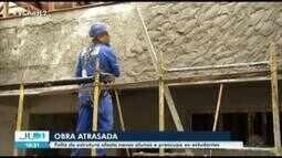 Colégio Paes de Carvalho, em Belém, passa por reforma, que está atrasada há quase um ano