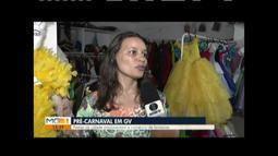 Comerciantes de Governador Valadares estão satisfeitos com as vendas para o carnaval