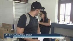 Treze pessoas são diagnosticadas com sarampo em cruzeiro atracado no cais santista