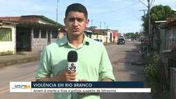 Jovem reage a assalto e é morto a tiros em Rio Branco
