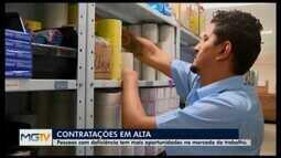Contratação de pessoas com deficiência cresce em Divinópolis