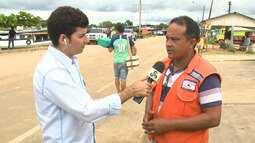 Famílias começam a deixar abrigo por conta própria em Cruzeiro do Sul