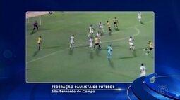 Linense perde para o São Bernardo e fica ameaçado na Série A2