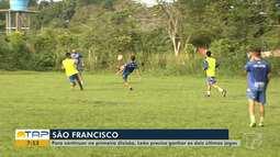 Veja como o São Francisco se prepara para a nona rodada do Campeonato Paraense