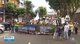 Caminhada marca o Dia Mundial da Água em Salvador