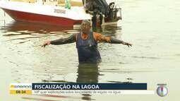MP quer explicações sobre lançamento de esgoto na Lagoa de Araruama