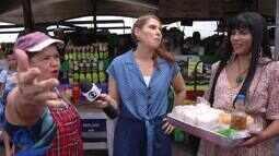 Gina Lobrista e MC Dourado desbravam o Ver-o-Peso