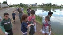 Horta comunitária e cuidado com parque municipal são exemplo de sustentabilidade