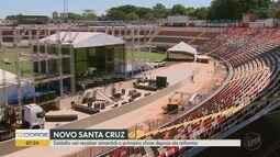 Reformado, Estádio Santa Cruz se transforma em arena multiuso em Ribeirão Preto