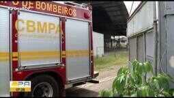 Incêndio atinge fábrica de refrigerante desativada na Br-316