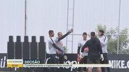 Corinthians faz ajustes finais para final do Paulista contra o Tricolor