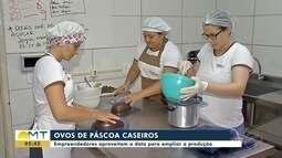 Empreendedores aproveita Páscoa para ampliar produção de ovos caseiros