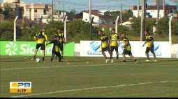 Confira a preparação do Botafogo-PB para o jogo de volta da final do Paraibano