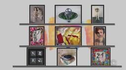 Confira obras da exposição 'Mulheres em Movimento'