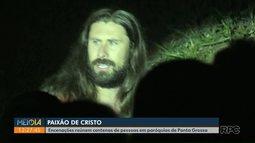 Grupos encenam a Paixão de Cristo em paróquias de Ponta Grossa